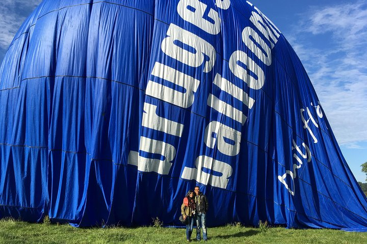 Private Balloon flight over Bruges for 2 persons exclusively., Brujas, BELGICA
