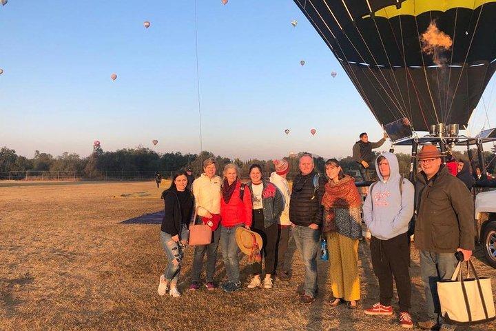 Teotihuacan Hot Air Balloon Ride with Optional Bike or Walking Tour, Ciudad de Mexico, MÉXICO