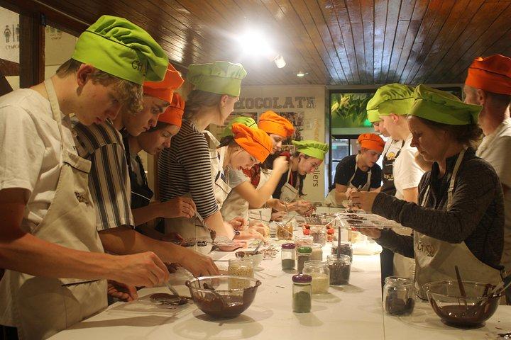 Bean-to-Bar Chocolate Workshop in ChocoMuseo Cusco, Cusco, PERU