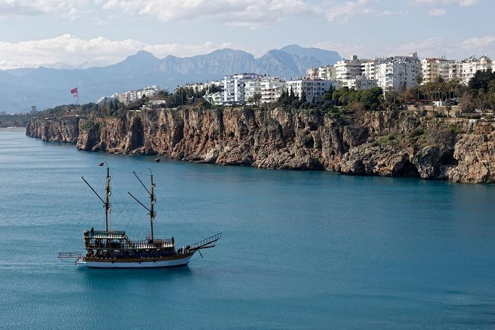 Antalya Aquarium admission with optional City Tour and Duden Waterfall from Side, Side, TURQUIA