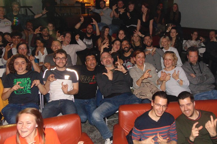 English Comedy Showcase Including Pizza in Berlin Mitte, Berlin, GERMANY