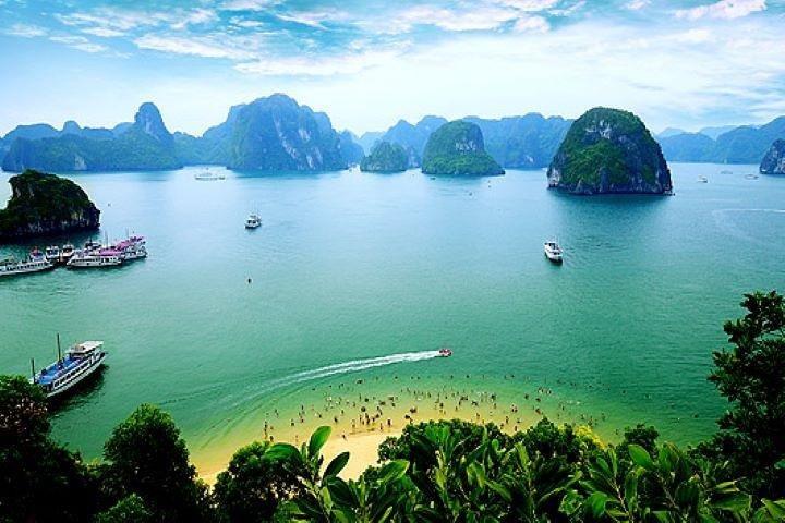 3-Day Luxury Bai Tu Long Bay Cruise on the Dragon Pearl Junk Boat, Hanoi, VIETNAM