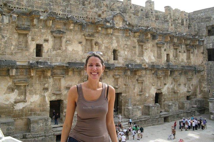 Duden Waterfalls Temple of Apollo and Aspendos Day Tour, Alanya, TURQUIA