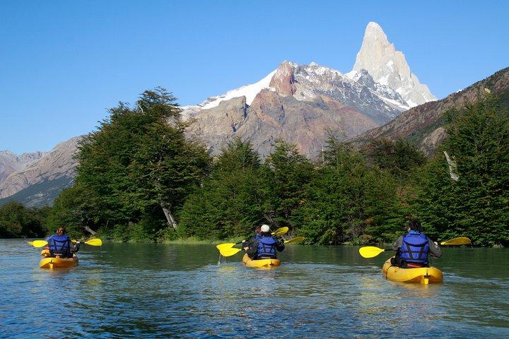 Kayak Rio de Las Vueltas (Refugio Laguna Cóndor)Half Day., El Chalten, ARGENTINA