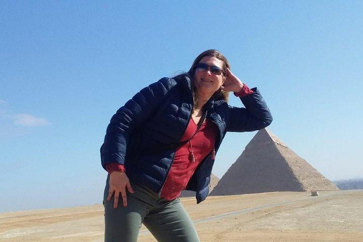 Excursión de 9 días en Egipto: pirámides de El Cairo y crucero por el Nilo desde Lúxor a Asuán y Abu Simbel, El Cairo, EGIPTO