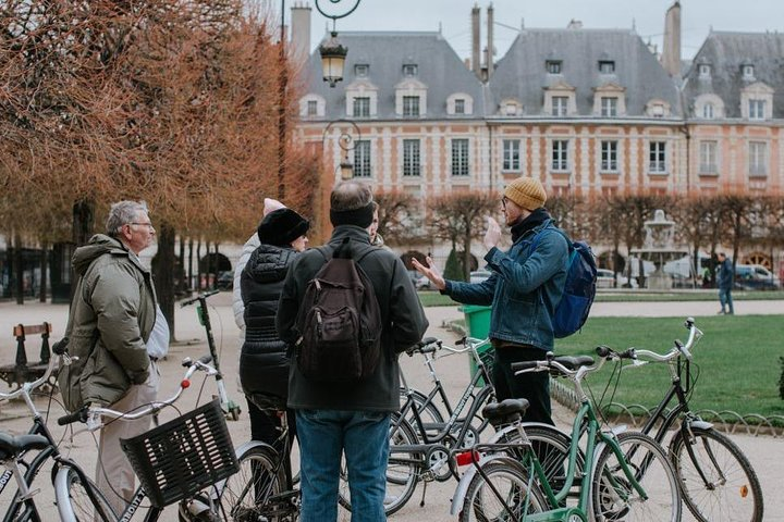 Paris Local Districts and Stories Off the Beaten Track Guided Bike Tour, Paris, FRANCE