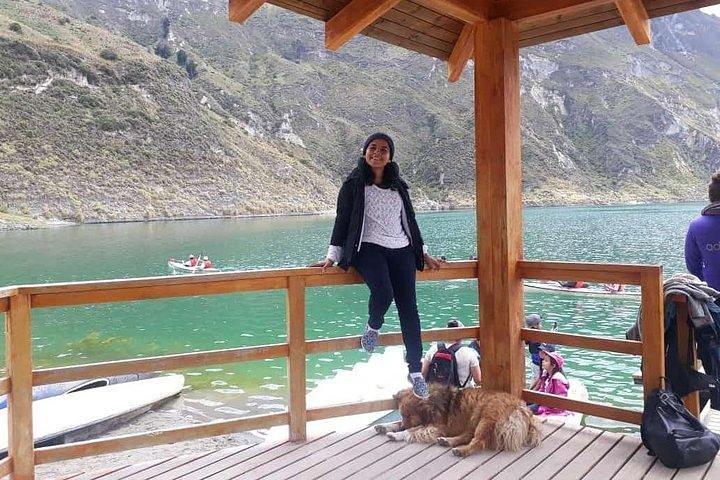 Laguna de Quilota (La Octava Maravilla Del Mundo), Baños, ECUADOR