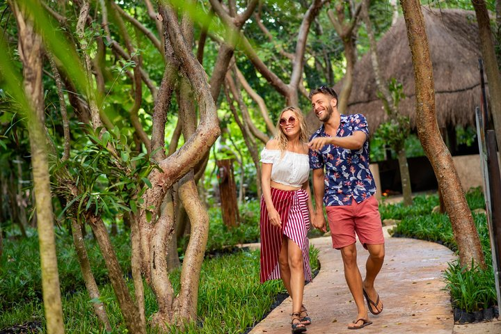 Priority Access: Xel-Há All-Inclusive Day Trip with Transportation, Tulum, Mexico