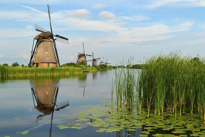 Kinderdijk Windmills from Rotterdam 1/2 day private tour private guide rotterdam, Dordrecht, HOLLAND