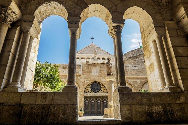 Highlight of the Jerusalem and Bethlehem Biblical Trip from Tel Aviv, Herzliya, ISRAEL