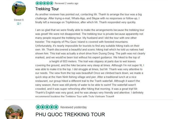Phu Quoc private trekking tour, Phu Quoc, VIETNAM