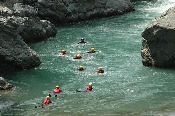 Body Rafting Alcantara gorges with food and wine tasting, Catania, ITALIA