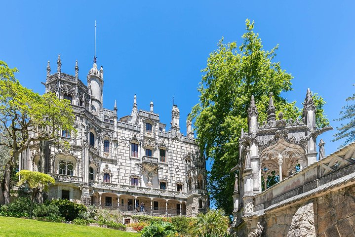 Sintra, Regaleira and Pena Palace, tickets included, from Lisbon, Lisboa, PORTUGAL