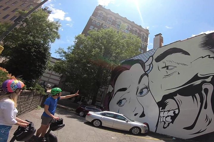 Richmond's Street Art Segway Tour, Richmond, VA, ESTADOS UNIDOS