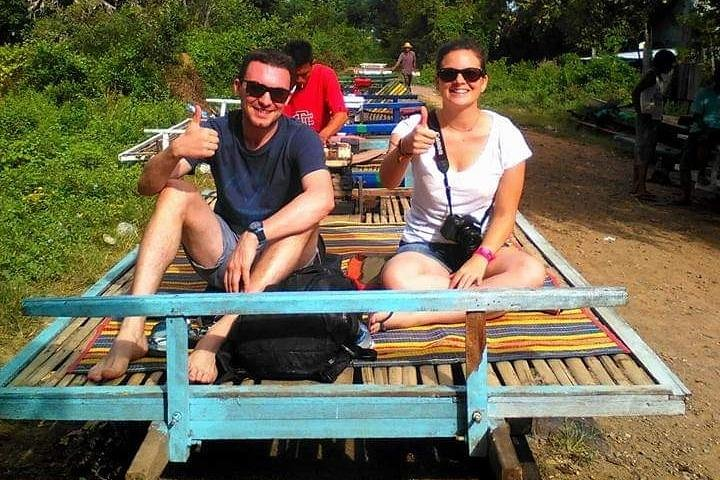 Half Day Afternoon Tuk Tuk Tour : BambooTrain and Bat Cave and Countryside, Battambang, CAMBOYA