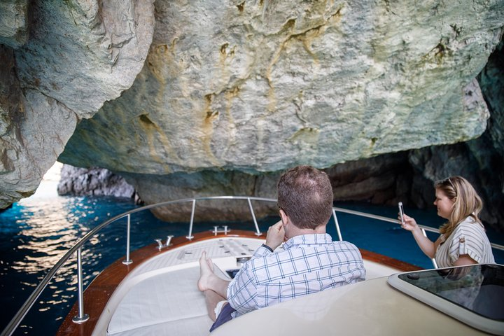 Private Amalfi coast tour with 30ft Boat, Sorrento, Itália