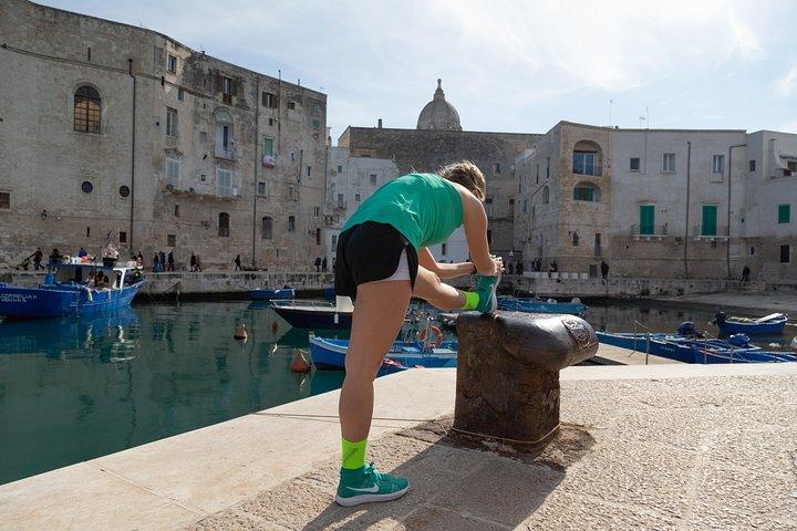 Guided Running Tour around Monopoli, Alberobello y Locorotondo, ITALIA