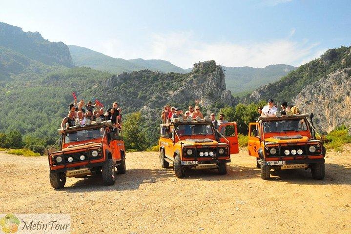 2 in 1: Jeep Safari + Boat Trip with lunch, Side, TURQUIA