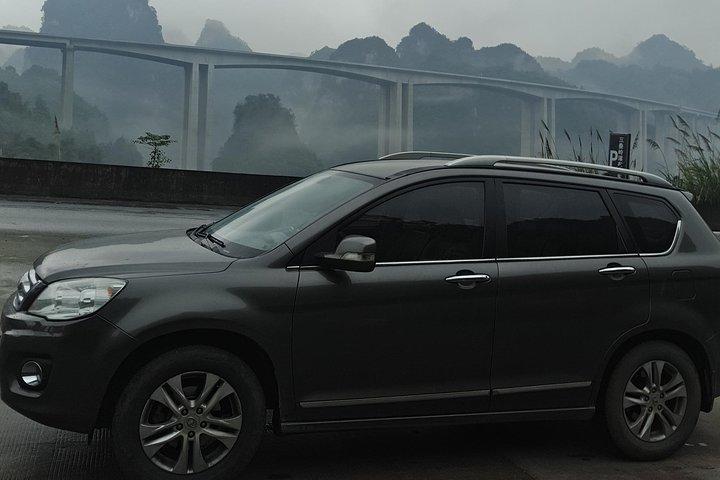 Zhangjiajie(Wulingyuan) Hotel to Yichang hotel, Zhangjiajie, CHINA