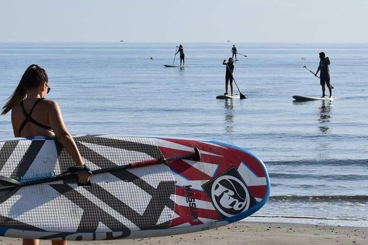 Stand Up Paddle Lesson, Larnaca, CHIPRE