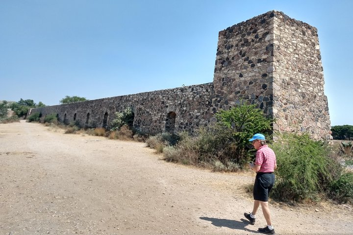 The mining town Pozos, San Miguel de Allende, MEXICO