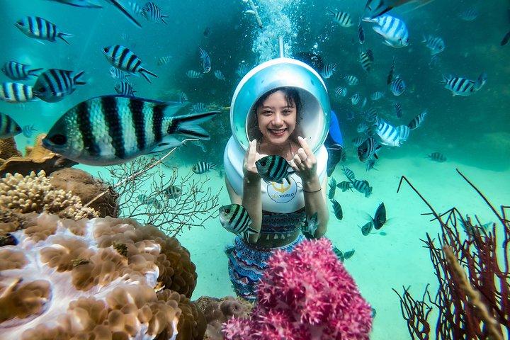 Sea Walker - DIVING, SNORKELING AND WATCHING CORAL REEFS, Phu Quoc, VIETNAM