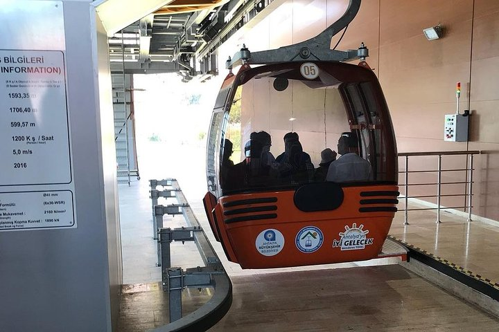 Antalya City Tour with Cable Car, Side, TURQUIA
