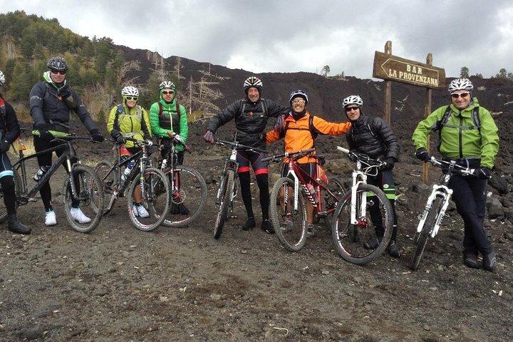 5-Hour Mount Etna Mountain Biking Private Tour from Catania, Catania, ITALIA