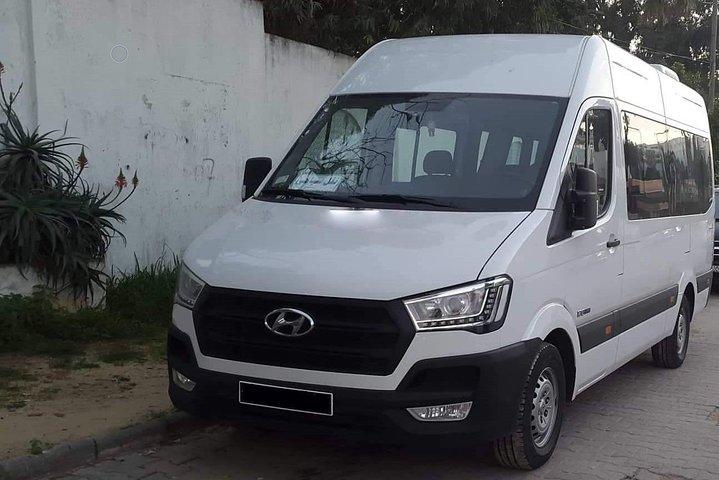 Monastir private minibus arrival & departure airport transfer to Skanes, Monastir, TUNEZ