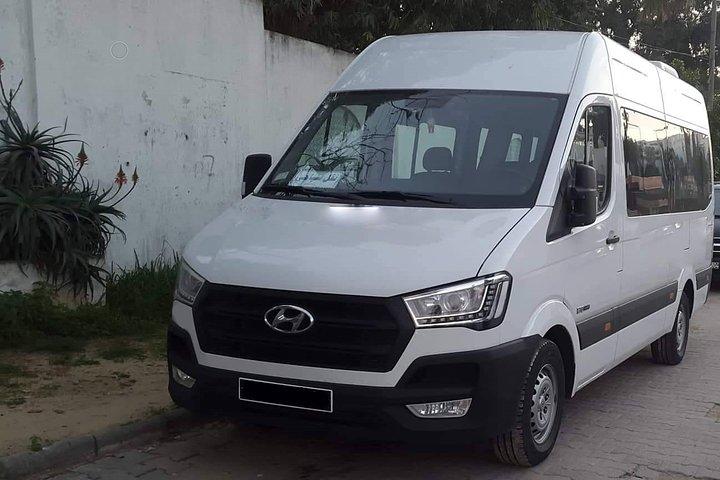 Monastir private minibus arrival & departure airport transfer to Carthage, Monastir, TUNEZ