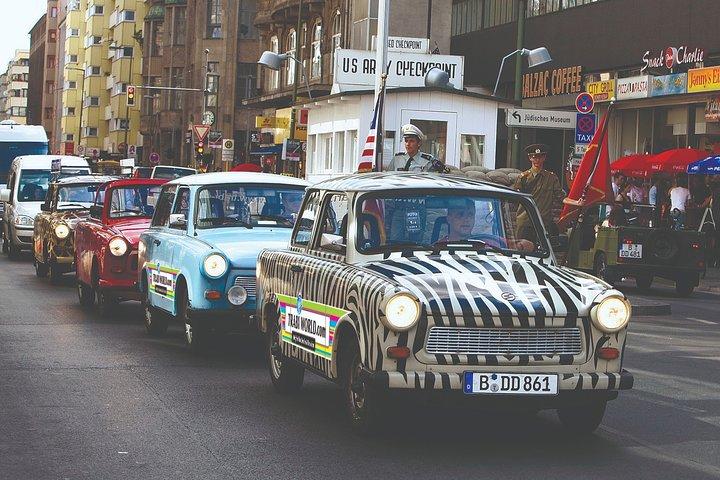 2 hour 15 min Berlin Wall Self Drive Trabant Tour, Berlin, GERMANY
