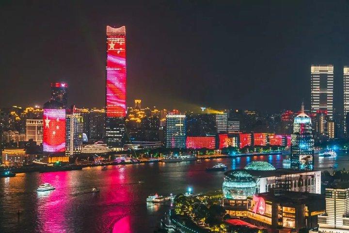 Shanghai Huangpu River Night Cruise with Buffet Dinner, Shanghai, CHINA