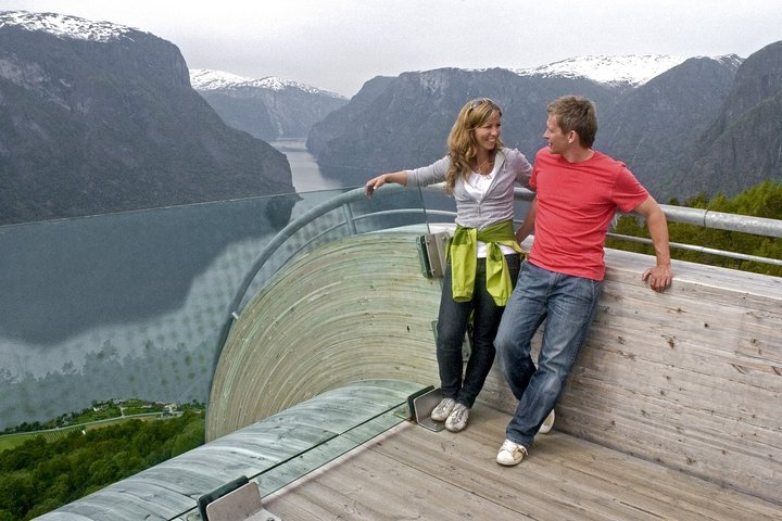 Cruise Special: Private Trip To Canyons And Waterfalls With Flåm Railway, Skjolden, NORUEGA