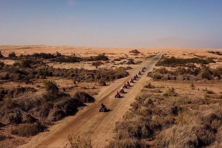 Quad Bike Tours, Swakopmund, NAMIBIA