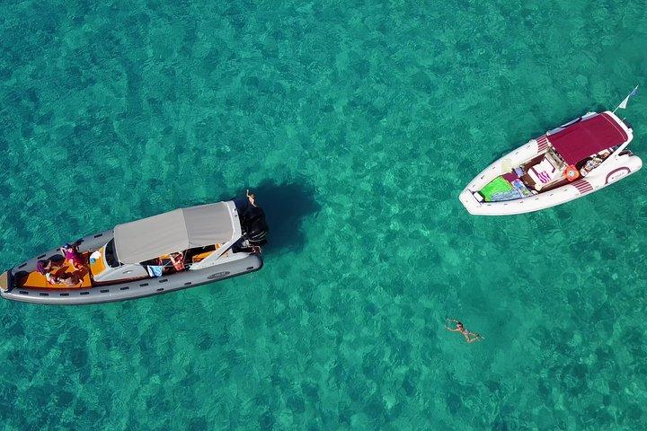 EXCITING BOAT TOUR to explore the coast from Tropea to Capo Vaticano; 1/2 day, Tropea, ITALIA