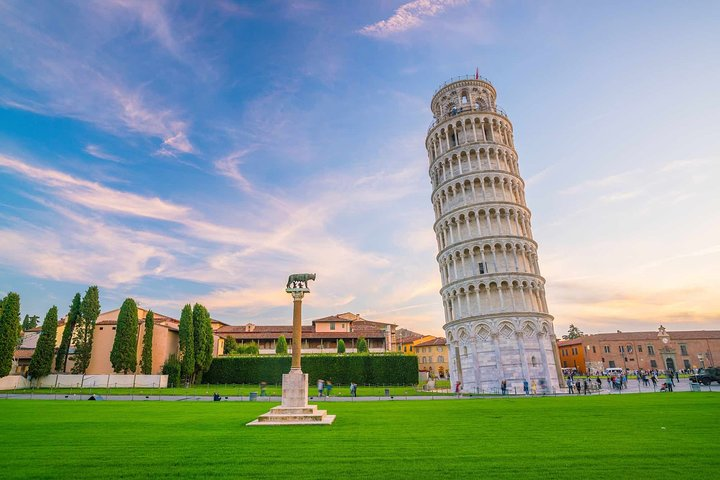 Shore excursion from Livorno port to Pisa and Luca with Drive Guide, Pisa, ITALIA