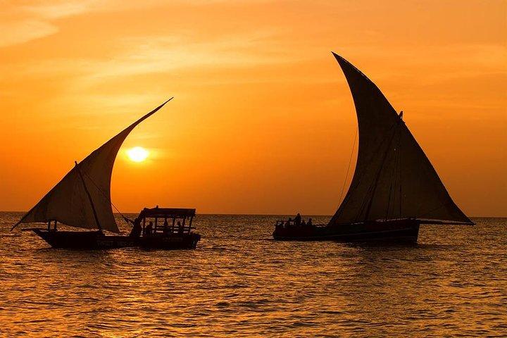 Sunset Dhow Cruise in Zanzibar, Zanzibar, TANZANIA