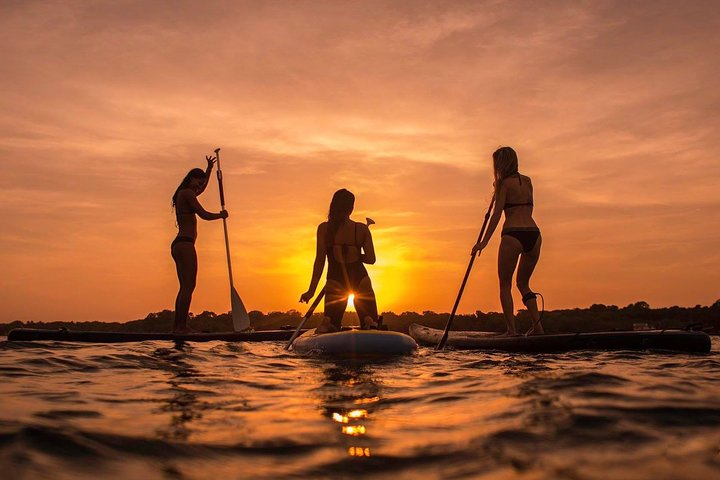 Sunset Guided Stand Up Paddle Lagoon Tour at Ishigaki, Ishigaki, JAPAN