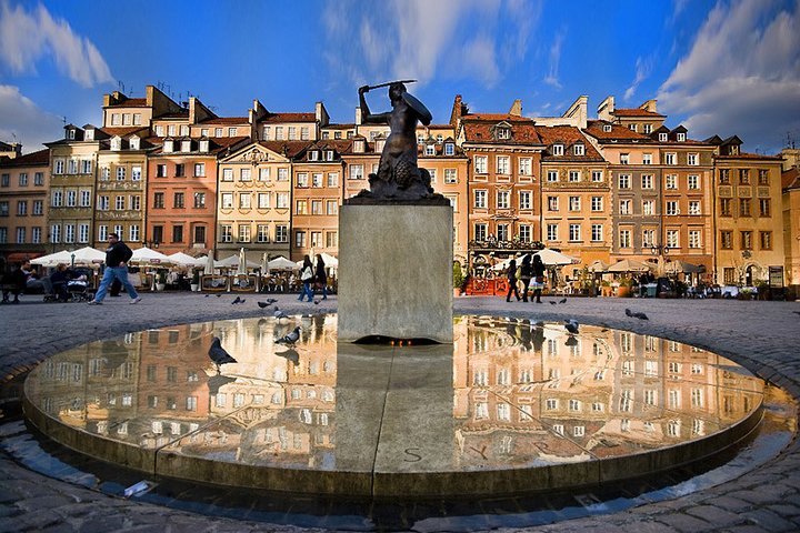 Warsaw Old Town with Royal Castle + Lazienki Park: SMALL GROUP /inc. Pick-up/, Varsovia, POLONIA