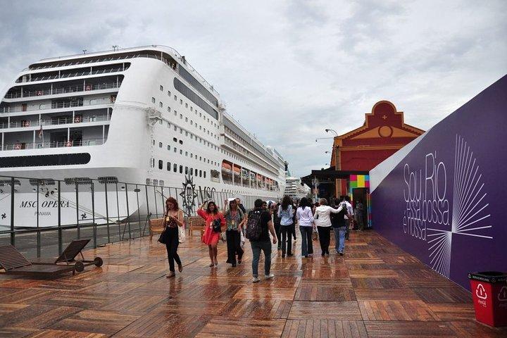 Private transfer: from Rio de Janeiro airport to the port with optional excursion, Rio de Janeiro, BRAZIL