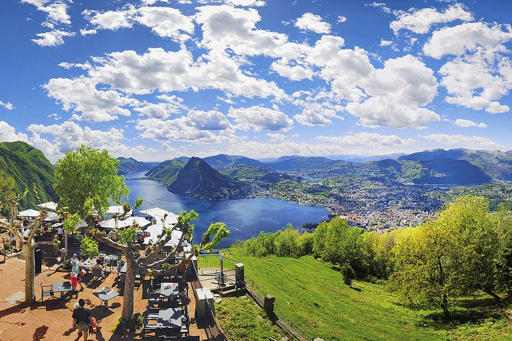 Bike & Cheese Alpe Bolla, Lugano, SUIZA