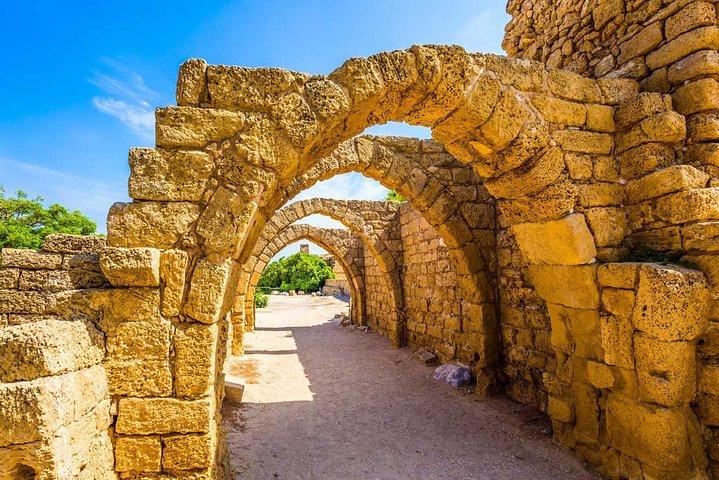 Caeserea, Rosh Hanikra and Acre Day Trip from Tel Aviv - Small Group, Herzliya, ISRAEL