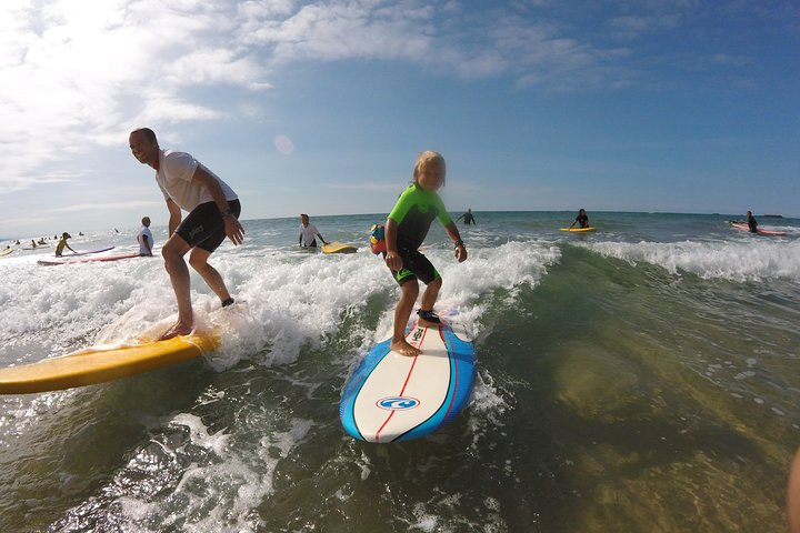 2 peoples Personal Surf Lesson in Biarritz, Biarritz, FRANCE