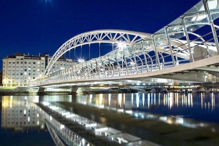 Recorrido Nocturno a Pie por Pontevedra, Vigo, ESPAÑA