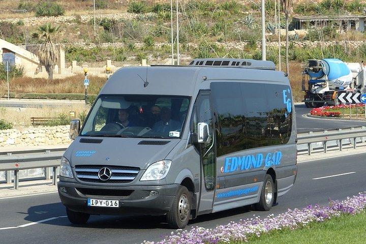 Malta Private Airport Transfer - Departure, Mellieha, MALTA