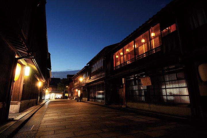 Kanazawa Night Tour with Local Meal and Drinks, Kanazawa, JAPON
