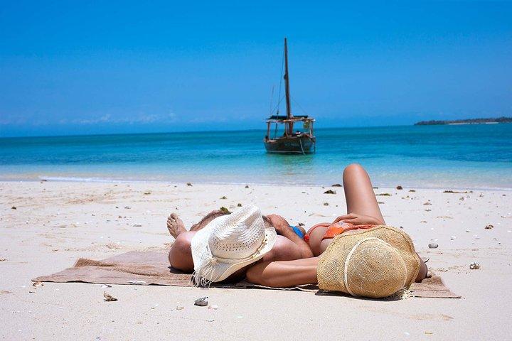 Zanzibar Safari Blue Tour; Kwale Island & Sandbank: Departure from Jambiani, Zanzibar, TANZANIA