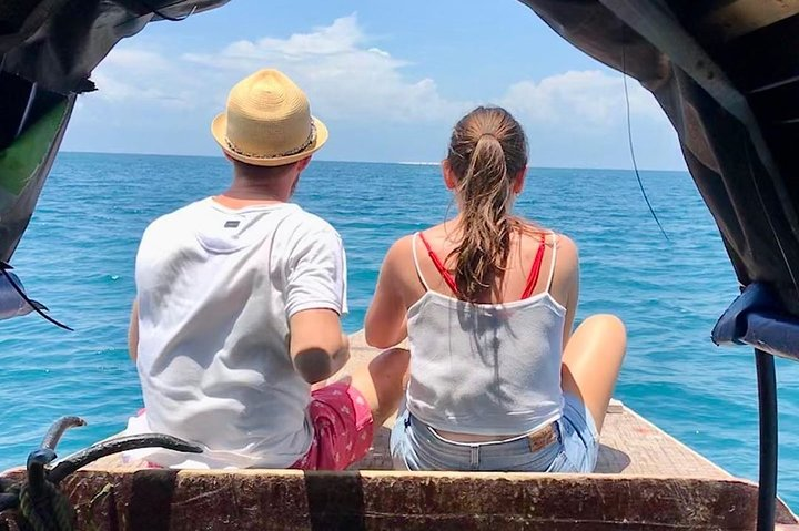 Zanzibar Safari Blue Tour; Kwale Island & Sandbank: Departure from Paje Beach, Zanzibar, TANZANIA