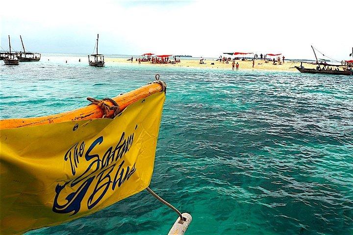 Zanzibar Safari Blue Tour; Kwale Island & Sandbank: Departure from Stone Town, Zanzibar, TANZANIA