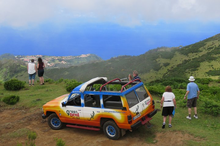 The best of SouthWest - open top roof 4x4 experience, Funchal, PORTUGAL